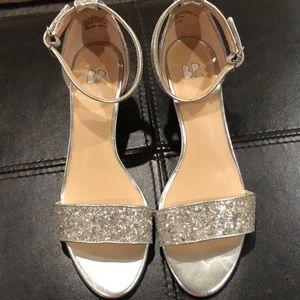 """BP """"Roxie"""" Glitter wedge sandal"""